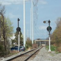 B & O eastbound signal, Collingdale, Коллингдейл