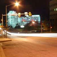 Conshohocken, PA   Fayette St. at night, Коншохокен
