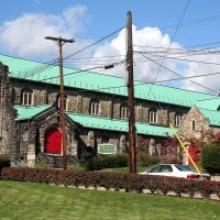 Episcopal Church of the Natvity on Division St., Crafton, PA, Крафтон