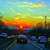sun set on parkway, Крафтон
