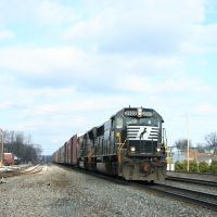 Norfolk Southern SD70 #2503 1/7/08, Крессон