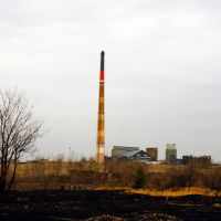 Another view of smoke stack, Лангелот