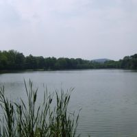Lake in Saint Vincent College, Латроб