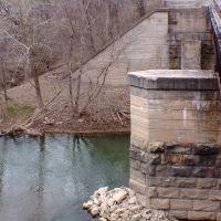 Railroad bridge over Buffalo Creek, November 2008, Линнтаун