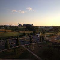 View of Penn State from Mount Nittany Medical Center, Ловер-Мореланд