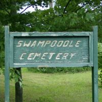 Swampoodle Cemetery Sign, Milesburg PA, Манхалл