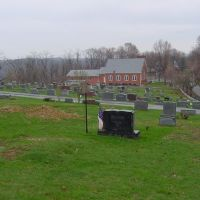 North Ten Mile Baptist Church and Cemetery, Марианна
