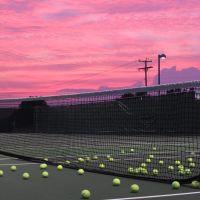 Tennis Sunset, Маунт-Гретна