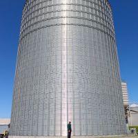 A big silo, Маунт-Гретна