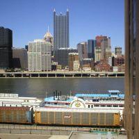 Pittsburgh Skyline from Sheraton Hotel, Маунт-Оливер