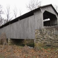 Hayes Clark Covered Bridge from SW, Модена