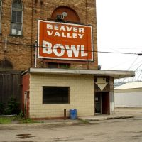 Beaver Valley Bowl, Rochester, PA, Монака