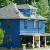 Shawnee Cabins, Historic Lincoln Highway, Schellsburg PA, Пайнт