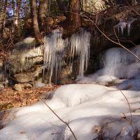 Frozen groundwater in Lorimer, Рокледж