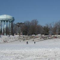 Burholme Park in winter, Рокледж