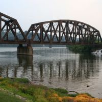 Railroad Bridge Over Beaver River, Рочестер