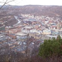 Johnstown in March from the Incline Plane Observation Deck, Саутмонт