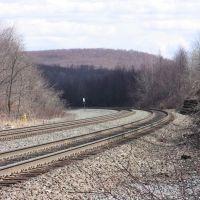Looking back towards Altoona/Horseshoe curve, Таннелхилл