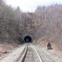 Another tunnel at Gallitzin, Altoona side, Таннелхилл