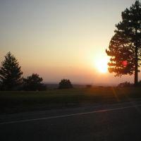 Allegheny Ridge Sunset, Таннелхилл