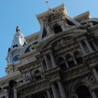 Second Empire Style Details, City Hall, Philadelphia, Филадельфия