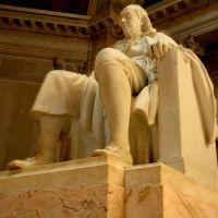 Ben Franklin Statue at the Franklin Institute, Филадельфия