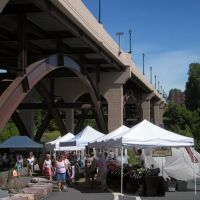 Farmers Market at the Gay Street Bridge, Phoenixville, Pennsylvania, Финиксвилл