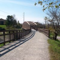 New Bridge of Montour Trail in Bethal Park, Финливилл