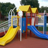 Playground - City Park, Equipment for toddlers, Swings, Флемингтон