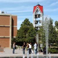 Fountain & Carillion at Lock Haven University in Clinton Co., PA, Флемингтон