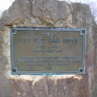 Memorial to First State Game Refuge in Clinton Co., PA, Флемингтон