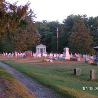 SOLDIERS CIRCLE at HIGHLAND CEMETERY, Флемингтон