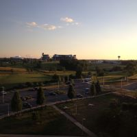 View of Penn State from Mount Nittany Medical Center, Фонтайн-Хилл