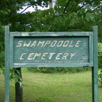 Swampoodle Cemetery Sign, Milesburg PA, Хаммельстаун