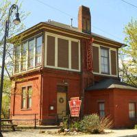 old train station, Huntingdon County Chamber of Commerce, 500 Allegheny Street, Huntingdon, PA 16652, Хантингдон