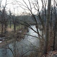 Saucon River, Хеллертаун