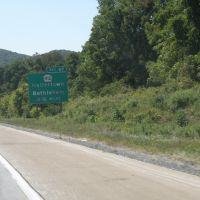 Approaching  Hellertown, PA., Хеллертаун