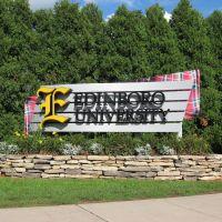 EDINBORO UNIVERSITY of PA, EDINBORO, PA - NORMAL ST. ENTRANCE, Эдинборо