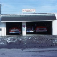 Old Station 1 Big Knob Volunteer Fire Department, Circa:  February 1968.  Big Knob VFD photo collection photo., Экономи