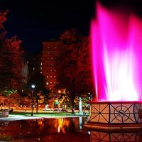 Edison Electric Fountain at Perry Square, Эри