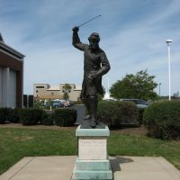 COL. STRONG VINCIENT STATUE ERIE MARITIME MUSEUM/ ERIE CO. LIBRARY ERIE, PA, Эри