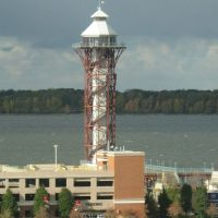 BICENTENNIAL TOWER FROM HAMOT SPORTS MEDICINE BUILDING ERIE, PA, Эри