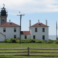 Beavertail Lightouse from North, Варвик