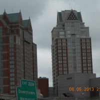 The highest buildings of Providence,RI,the smallest state of USA, Кранстон