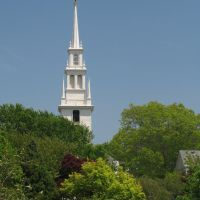 Trinity Church and Queen Ann Square, Ньюпорт