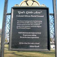 Gods Little Acre Sign, Ньюпорт