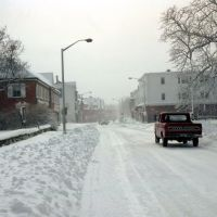 Newport Blizzard of 1978. Day after., Ньюпорт