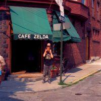 Cafe Zelda. Newport, R.I., Ньюпорт