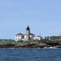 The 10 Lighthouses of Narragansett Bay:  5-Beavertail Lighthouse, Паутакет