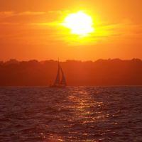 sailing sunset, Паутакет